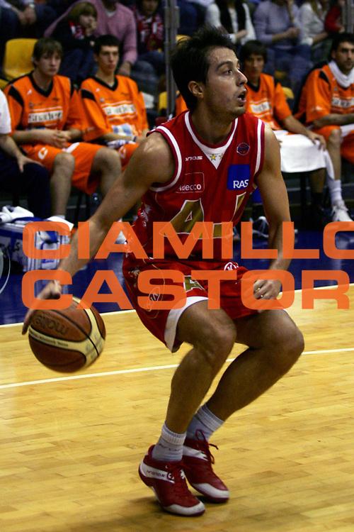 DESCRIZIONE : Milano Lega A1 2006-07 Armani Jeans Milano Snaidero Udine<br /> GIOCATORE : Bulleri<br /> SQUADRA : Armani Jeans Milano<br /> EVENTO : Campionato Lega A1 2006-2007<br /> GARA : Armani Jeans Milano Snaidero Udine<br /> DATA : 10/03/2007<br /> CATEGORIA : Palleggio<br /> SPORT : Pallacanestro<br /> AUTORE : Agenzia Ciamillo-Castoria/L.Lussoso
