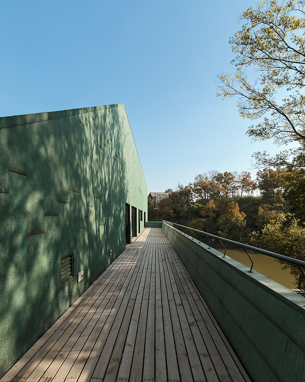 """CIPEA """"Boathouse"""" Villa in Sifang development in Nanjing, China designed by Sanaksenaho architects."""