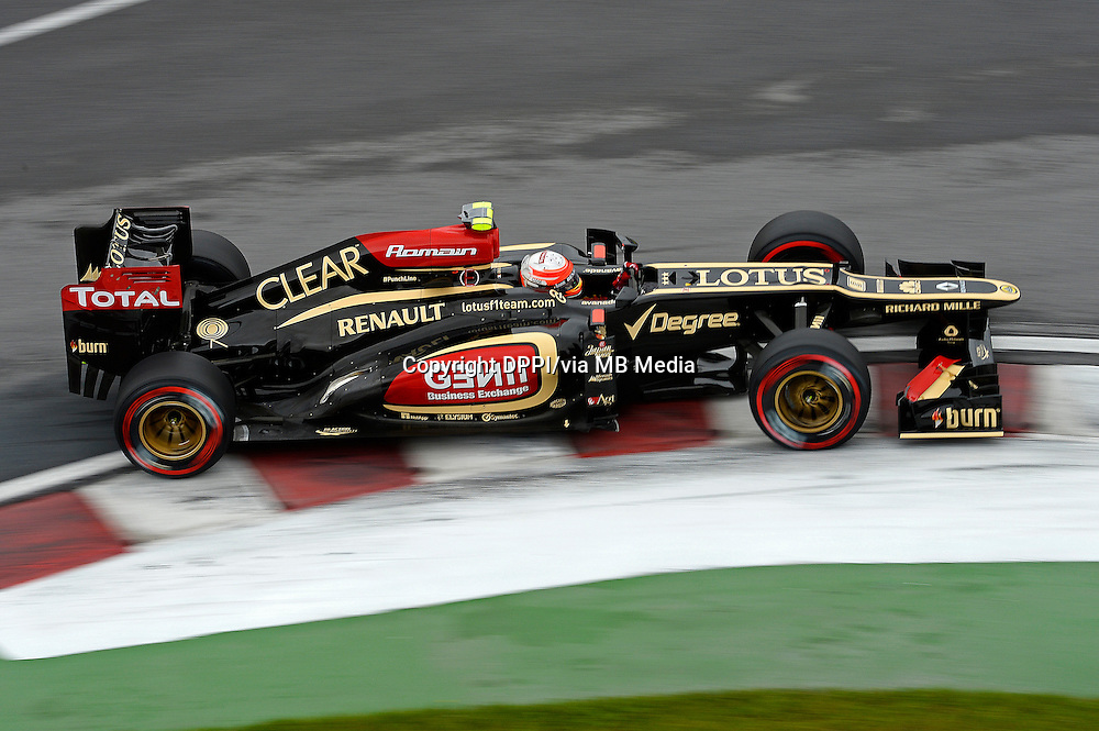 MOTORSPORT - F1 2013 - GRAND PRIX OF CANADA - MONTREAL (CAN) - 07 TO 09/06/2013 - PHOTO ERIC VARGIOLU / DPPI GROSJEAN ROMAIN (FRA) - LOTUS E21 RENAULT - ACTION