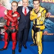 NLD/Amsterdam/20151209 - Premiere Mega Mindy vs. ROX, Jelle Florizoone, Frans Maas en Jeremy Vandoorne