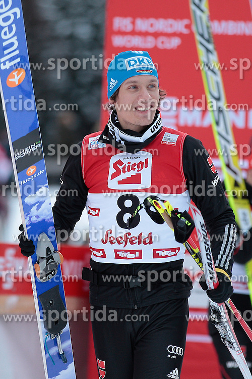 19.01.2013, Casino Arena, Seefeld, AUT, FIS Nordische Kombination, Gundersen, Langlauf, im Bild Edelmann Tino GER during Cross Country of FIS Nordic Combined World Cup in Sefeld, Austria on 2013/01/19. EXPA Pictures © 2013, PhotoCredit: EXPA/ Federico Modica