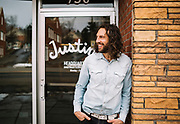 Justin Gold, founder of Justin's, a company that makes nut butters, at the company's headquarters in Boulder, Colo., on January 9, 2017. Gold started the company 2004 out of his own kitchen.