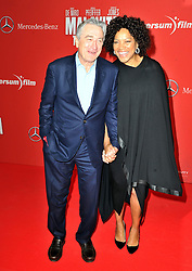 Actor Robert de Niro and his wife Grace Hightower attend the 'Malavita - The Family' Germany premiere at Kino in der Kulturbrauerei, Berlin, Germany on October 15, 2013. Picture by Schneider- Press / i-Images<br /> UK & USA ONLY