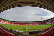 A General view inside the Keepmoat Stadium prior to The FA Cup 5th round match between Doncaster Rovers and Crystal Palace at the Keepmoat Stadium, Doncaster, England on 17 February 2019.