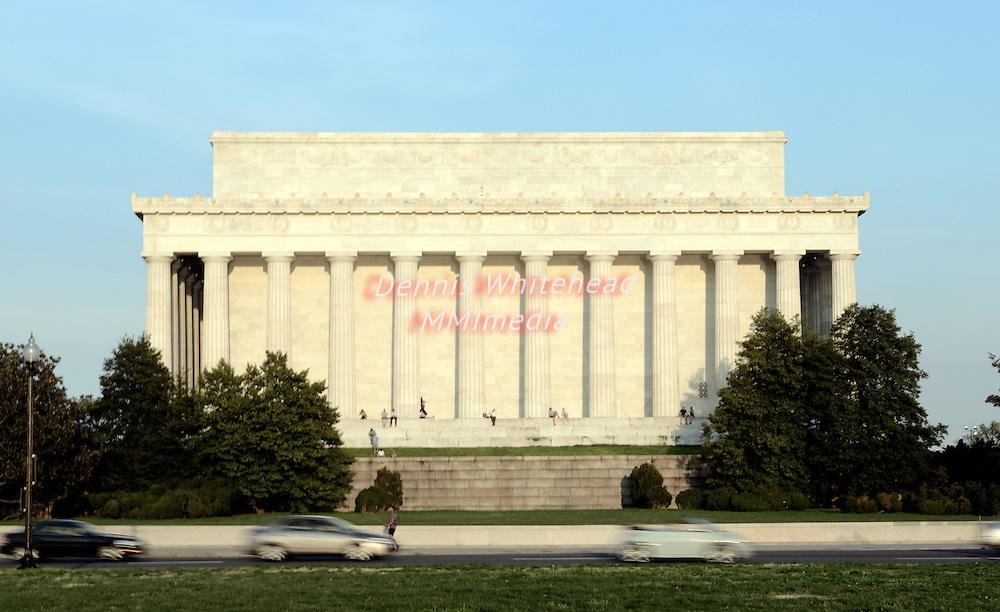 The Lincoln Memorial in Washington, DC