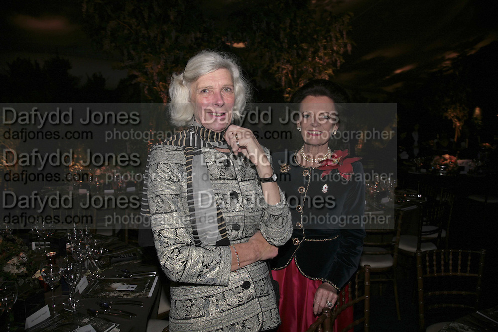 Lady Wheeler and Lady Newall, President of the charity Lady Newall and her husband Sir Paul Newall. British Red Cross Ball, Waterloo. London. 16 November 2006.  TIME USE ONLY - DO NOT ARCHIVE  © Copyright Photograph by Dafydd Jones 66 Stockwell Park Rd. London SW9 0DA Tel 020 7733 0108 www.dafjones.com