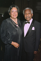 PROF.SIR KENNETH & LADY STUART  at a ball in London on 25th September 1997.MBO 7