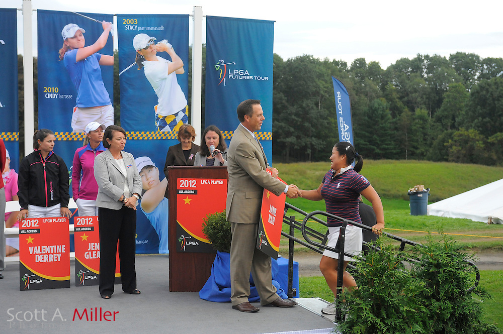 Awards ceremony following the final round of the LPGA Future Tour's Price Chopper Tour Championship at Capital Hills at Albany on Sept. 11, 2011 in Albany, N.Y...©2011 Scott A. Miller