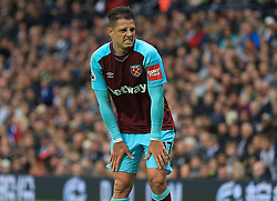 Javier Hernandez of West Ham United - Mandatory by-line: Paul Roberts/JMP - 16/09/2017 - FOOTBALL - The Hawthorns - West Bromwich, England - West Bromwich Albion v West Ham United - Premier League