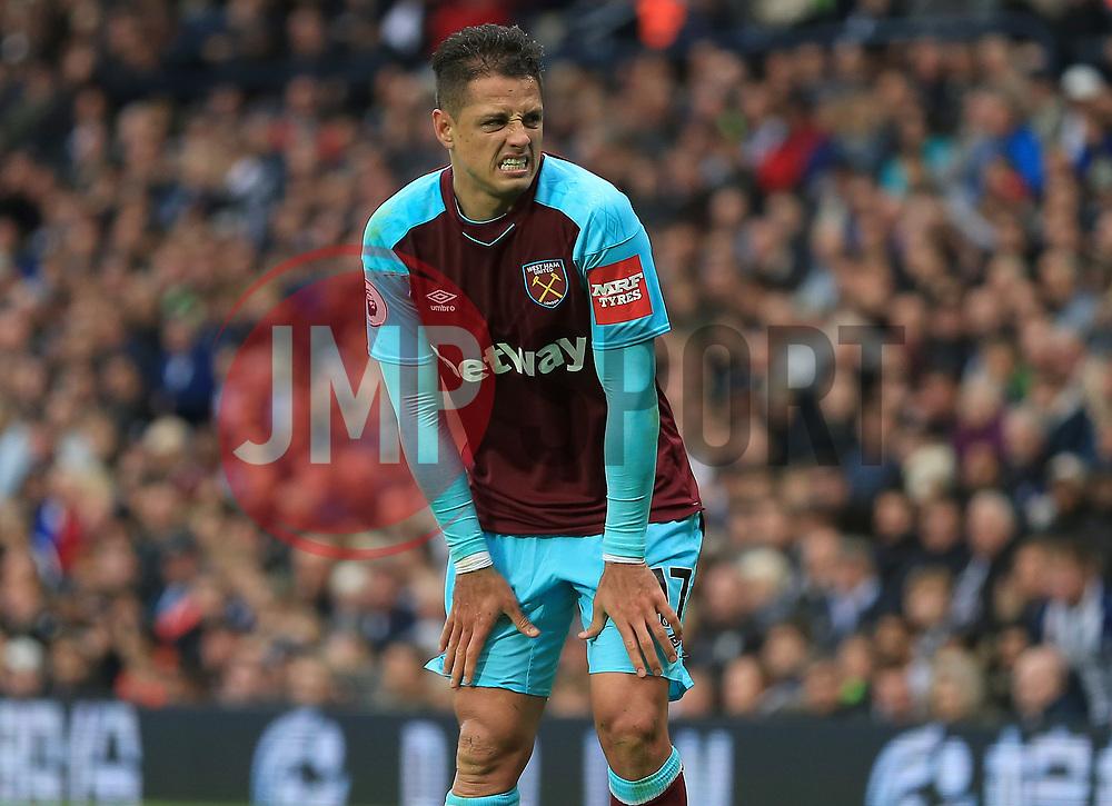 Javier Hernandez of West Ham United - Mandatory by-line: Paul Roberts/JMP - 16/09/2017 - FOOTBALL - The Hawthorns - West Bromwich, England - West Bromwich Albion v West Ham United - Premier League