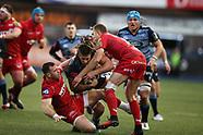 311217 Cardiff Blues v Scarlets