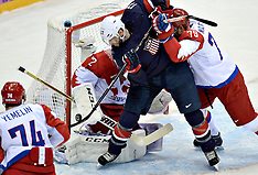 20140215 Olympics Sochi Ishockey USA-Rusland