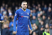 Chelsea Midfielder Mateo Kavacic during the Premier League match between Chelsea and Wolverhampton Wanderers at Stamford Bridge, London, England on 10 March 2019.