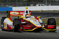 Helio Castroneves, INDYCAR Spring Training, Sebring International Raceway, Sebring, FL 03/05/12-03/09/12