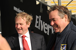 An Taoiseach Enda Kenny arriving to the game on saturday evening.<br />