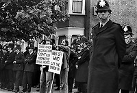 Grunwick (film processing company) strike and protests in London 1977
