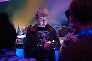JACK CULLEN, ' We think you rock' Bjorn Borg launch. Battersea Power station. London. 16 February 2012.