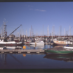 Marina, Port Angeles, Olympic Peninsula, Washington, US