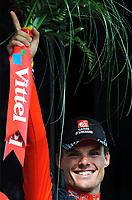 Sykkel<br /> Tour de France<br /> Foto: DPPI/Digitalsport<br /> NORWAY ONLY<br /> <br /> CYCLING - TOUR DE FRANCE 2009 - SAINT GIRONS (FRA) - 11/07/2009 <br /> <br /> STAGE 8 - ANDORRA LA VELLA > SAINT GIRONS - LUIS-LEON SANCHEZ (ESP) / CAISSE D'EPARGNE / WINNER