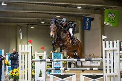 Postelmans Liesbeth, BEL, Baromaat Z<br /> Klasse Midden<br /> Nationaal Indoor Kampioenschap Pony's LRV <br /> Oud Heverlee 2019<br /> © Hippo Foto - Dirk Caremans<br /> 09/03/2019