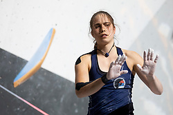 Stasa Gejo of Serbia during Women's bouldering Final at the IFSC Climbing World Championships Innsbruck 2018, on September 14, 2018 in OlympiaWorld Innsbruck, Austria, Slovenia. Photo by Urban Urbanc / Sportida
