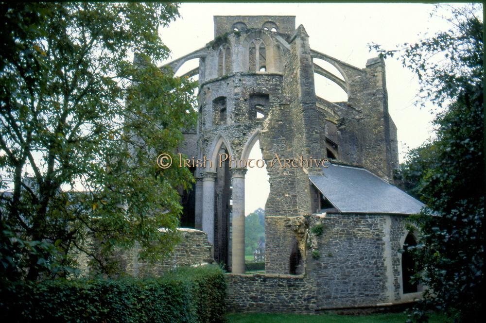 France, Normandy.  Abbaye de Hambye, built 1145.  Now a ruin.