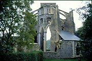 France, Normandy.  Abbaye de Hambye, built 1145.  Now a ruin.