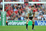 Richie McCaw stands in defence as the Reds take a penalty ~ Super 15 rugby (Round 15) - Reds v Crusaders played at Suncorp Stadium, Brisbane, Australia on Sunday 29th May 2011 ~ Photo : Steven Hight (AURA Images) / Photosport