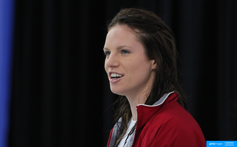 Emily Seebohm  during the Australian Swimming Championships and Selection Trials for the XIII Fina World Championships held at Sydney Olympic Park Aquatic Centre, Sydney, Australia from March 17, 2009. Photo Tim Clayton