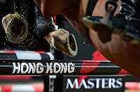 HONG KONG - FEBRUARY 13:  Longines Hong Kong Masters International Show Jumping at Asia World Expo on February 13, 2015 in Hong Kong, Hong Kong. (Photo by Manuel Queimadelos / Oxer Sport)