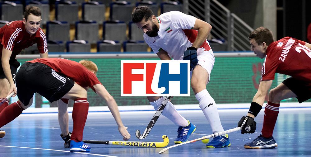 BERLIN - Indoor Hockey World Cup<br /> Men: Iran - Russia<br /> foto: TAHERIRAD Navid.<br /> WORLDSPORTPICS COPYRIGHT FRANK UIJLENBROEK
