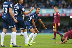 Timothee Dieng of Southend United is in shock when a decision goes against him - Mandatory by-line: Arron Gent/JMP - 27/10/2019 - FOOTBALL - Roots Hall - Southend-on-Sea, England - Southend United v Ipswich Town - Sky Bet League One
