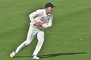 Notts substitute Matt Milnes during the Specsavers County Champ Div 2 match between Sussex County Cricket Club and Nottinghamshire County Cricket Club at the 1st Central County Ground, Hove, United Kingdom on 28 September 2017. Photo by Simon Trafford.