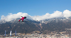 03.01.2017, Bergiselschanze, Innsbruck, AUT, FIS Weltcup Ski Sprung, Vierschanzentournee, Innsbruck, Training, im Bild Anders Fannemel (NOR) // Anders Fannemel of Norway during his Practice Jump for the Four Hills Tournament of FIS Ski Jumping World Cup at the Bergiselschanze in Innsbruck, Austria on 2017/01/03. EXPA Pictures © 2017, PhotoCredit: EXPA/ Jakob Gruber