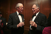 The Duke of Marlborough and Baron Thierry van Zuylen , Cartier Racing Awards , Four Seasons Hotel, Hamilton Place, London, W1, 15 November 2006. ONE TIME USE ONLY - DO NOT ARCHIVE  © Copyright Photograph by Dafydd Jones 66 Stockwell Park Rd. London SW9 0DA Tel 020 7733 0108 www.dafjones.com