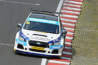 #39 Warren Scott GBR Subaru Team BMR Subaru Levorg GT  during qualifiying for the BTCC Oulton Park 4th-5th June 2016 at Oulton Park, Little Budworth, Cheshire, United Kingdom. June 04 2016. World Copyright Peter Taylor/PSP.