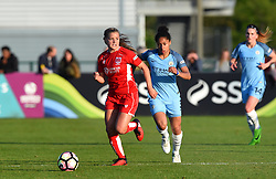 Olivia Fergusson of Bristol City Women in action during the FA WSL 1 match between Bristol City Women and Manchester City Women at Stoke Gifford Stadium - Mandatory by-line: Paul Knight/JMP - 09/05/2017 - FOOTBALL - Stoke Gifford Stadium - Bristol, England - Bristol City Women v Manchester City Women - FA Women's Super League Spring Series