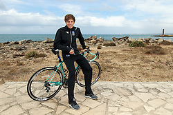 10.03.2016, Colonia di Sant Jordi, ESP, Deutsche Triathlon Nationalmannschaft, Trainingslager, im Bild Justus Nieschlag (GER) // during photocall at the training camp of German Triathlon National Team in Colonia di Sant Jordi, Spain on 2016/03/10. EXPA Pictures &copy; 2016, PhotoCredit: EXPA/ Eibner-Pressefoto/ Sch&uuml;ler<br /> <br /> *****ATTENTION - OUT of GER*****
