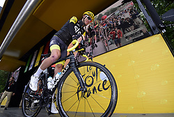 July 13, 2017 - Pau, France - Peyragudes, France - July 13 :  FROOME Christopher of Team Sky during stage 12 of the 104th edition of the 2017 Tour de France cycling race, a stage of 214.5 kms between Pau and Peyragudes on July 13, 2017 in Peyragudes, France, 13/07/2017 (Credit Image: © Panoramic via ZUMA Press)
