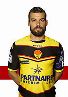 Gauthier Pinaud during Photoshooting of Orleans for new season 2017/2018 on September 27, 2017 in Reims, France.<br /> Photo : Icon Sport