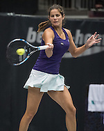 Julia Goerges (GER)  during the WTA Generali Ladies Open at TipsArena, Linz<br /> Picture by EXPA Pictures/Focus Images Ltd 07814482222<br /> 11/10/2016<br /> *** UK & IRELAND ONLY ***<br /> <br /> EXPA-REI-161011-5018.jpg