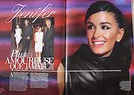 GALA Magazine- Double Page Jenifer Bartoli by Tony Barson