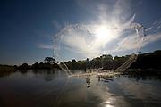 Pirapora_MG, Brasil...Rio Sao Francisco, o rio da integracao nacional. ..The Sao Francisco, It is an important river for Brazil, called the river of national integration...Foto: LEO DRUMOND / NITRO