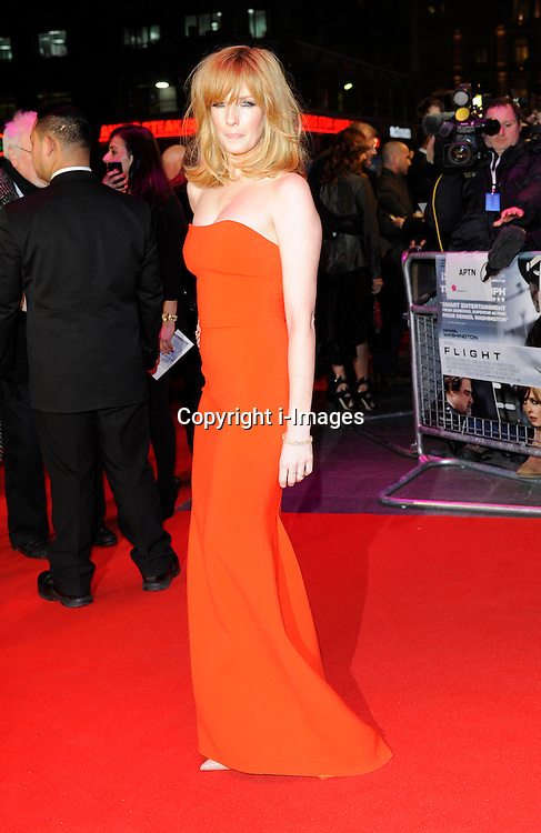 Kelly Reilly during the Flight UK film premiere, Empire Leicester Square, London, United Kingdom, January 17, 2013. Photo by i-Images.