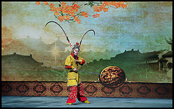 The Peking Opera at the Reignwood Theatre in Beijing, China, Sunday 13th October 2013. Picture by Andrew Parsons / i-Images. Picture by Andrew Parsons / i-Images