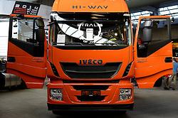 Herning, Danmark, 20130404: MCH Messe - Transport 2013.Truck of the year.Foto: Lars Møller.Herning, Denmark, 20130404: MCH Fair - Transport 2013. Truck of the year.Photo: Lars Moeller