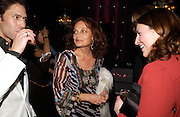 Diane von Furstenburg, party given by Daphne Guinness for Christian Louboutin  after the opening of his new shopt.  Baglione Hotel. 16 March 2004.  ONE TIME USE ONLY - DO NOT ARCHIVE  © Copyright Photograph by Dafydd Jones 66 Stockwell Park Rd. London SW9 0DA Tel 020 7733 0108 www.dafjones.com