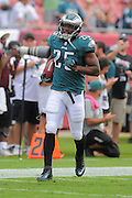 Philadelphia Eagles running back LeSean McCoy (25) during the Eagles 31-20 win over the Tampa Bay Buccaneers on Oct. 13, 2013 in Tampa, Florida. <br /> <br /> ©2013 Scott A. Miller