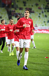 November 15, 2018 - Gdansk, Pomorze, Poland - Marcin Kaminski (19) Poland national football team during the international friendly soccer match between Poland and Czech Republic at Energa Stadium in Gdansk, Poland on 15 November 2018  (Credit Image: © Mateusz Wlodarczyk/NurPhoto via ZUMA Press)