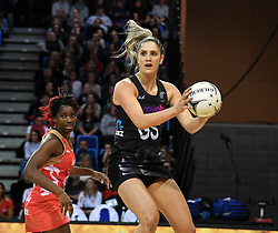 New Zealand's Te Paea Selby-Rickit in the Taini Jamison Trophy netball series match at Te Rauparaha Arena, Porirua, New Zealand, Thursday, September 07, 2017. Credit:SNPA / Ross Setford  **NO ARCHIVING**
